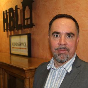 Jens Berg, vd för KSF-media
