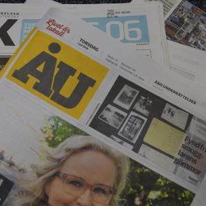 Åbo underrättelser är Finlands äldsta dagstidning.