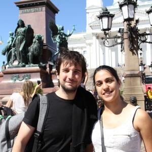 Martha Muñoz och Alvaro Icaza