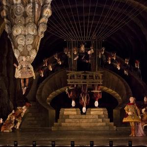 Kuva oopperasta Hippolytos ja Arikia (Hippolyte et Aricie), 2012
