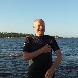 Kaido Kotkas är Kristinestads hedersmedborgare och sjusovare 2016