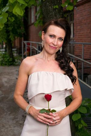 Raisa Laine Tangomarkkinat 2016 -kilpailija.