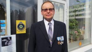 Birger Tikander från Lovisa var fredsbevarare på Cypern för 40 år sedan