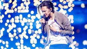 Frans Jeppson-Wall representerar Sverige i Eurovisionen 2016.