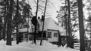 Sibeliuksen koti Ainola Järvenpäässä.