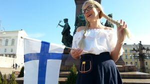Suomi-neidon muotia 1890-luvulta