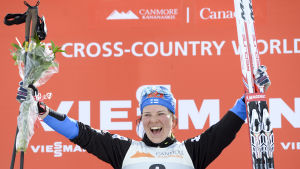 Krista Pärmäkoski slutade fyra i Kanadatouren.