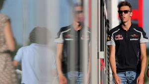 Daniil Kvyat i Ungerns GP, 2016.