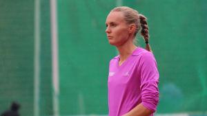 Sanna Nygård är halva Finlands lag vid inomhus-VM i friidrott.