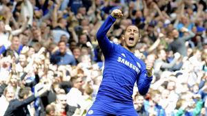 Eden Hazard, mittfältare i Chelsea.