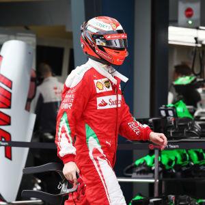 Kimi Räikkönen i Melbourne 2016.