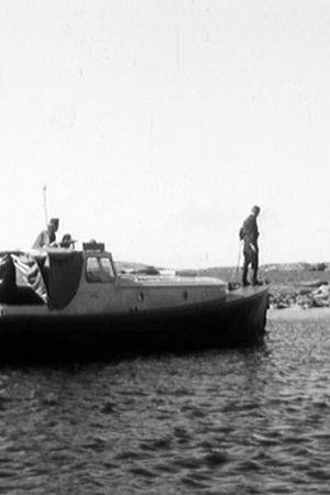 En båt i skärgården någonstans utanför Utö. 1971