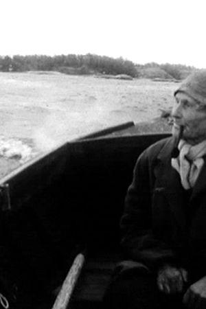 73 år gamla åländska fiskaren och f.d. sjömannen Herbert Eklund.