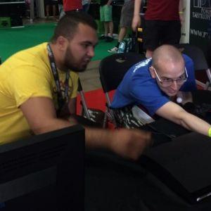 Emil tog storstryk i Tekken på Assembly