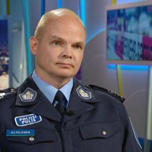 Polisinspektör Timo Kilpeläinen.