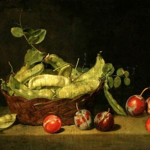 Mateusz Tokarski Still life with pea; National Museum in Warsaw