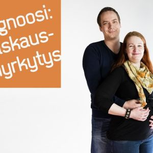 Leena Prykäri ja Toni Huhtamella