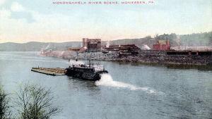 Bertha-siipiratasalus Monessenissa 1913.