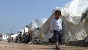 Tusentals syrier har flytt till Turkiet