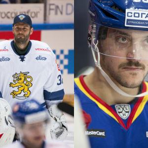 Niklas Bäckström och Juhamatti Aaltonen.