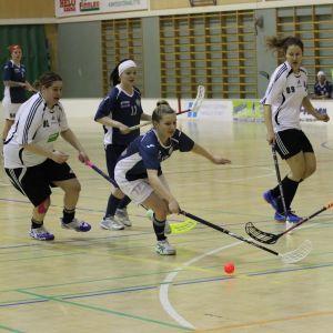 Innebandyturnering i division 2 i Hangö idrottshus 19.3.