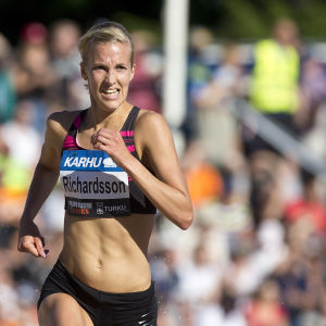 Camilla Richardsson i Paavo Nurmi Games 2016.