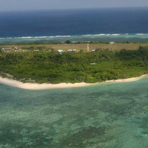 Ön Pagasa som är en del av Spratly-öarna