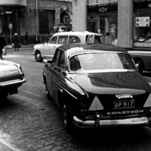 Bilparkering 1966