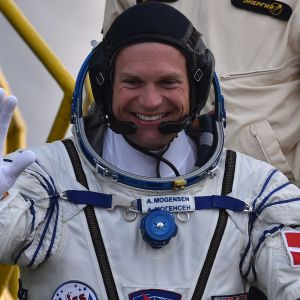 Astronaut Andreas Morgensen.