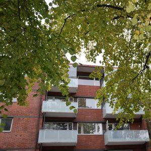 Höghus i Helsingfors.