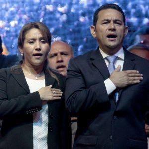 Gilda de Morales och Jimmy Morales
