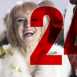 X3M Julkalender 24, Vi ska inte dö idag-sång skärmdump