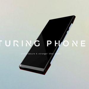 Bild av hur Turing-telefonen ska se ut.