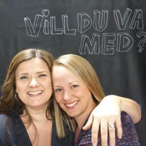 två kvinnor och en fråga