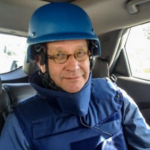 Tom Kankkonen från Yle är årets journalist