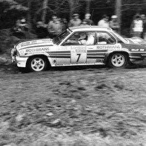 Henri Toivonen i full fart.