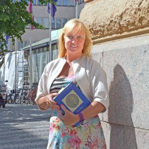Pia Österman, verksamhetsledare för Alumnföreningen vid Helsingfors universitet.