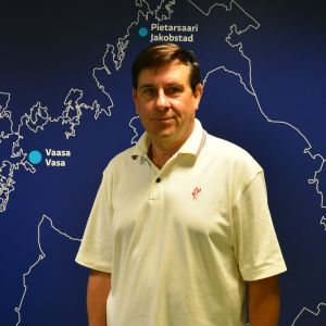 Österbottens landskapsdirektör Kaj Suomela