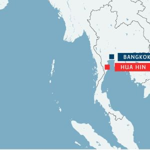 karta över bombdåd i thailand