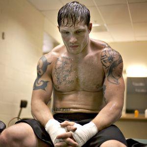 Warrior-elokuvan päähenkilö Tom Conlon (Tom Hardy)