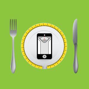 Lautasella älypuhelin, grafiikka
