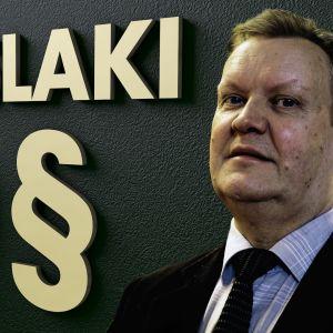 Kansalliskirjaston johtaja Kai Ekholm ja perustuslaki
