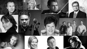 Sibelius-marraskuu M2-studiossa