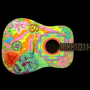 Hippiegitarr