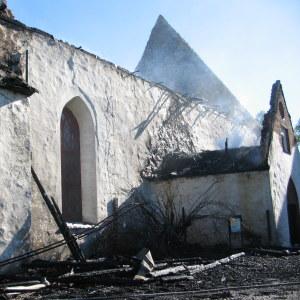 branden i Borgå domkyrka