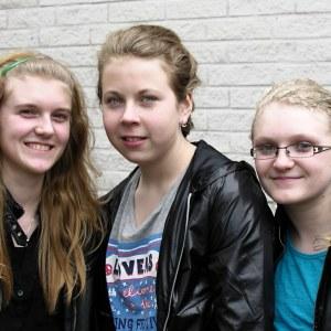 Gruppen Jojjo blöand MGP-finalisterna 2012
