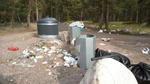 Sopterminal i Kallvik.