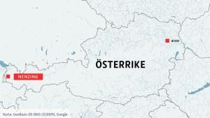Karta över Österrike och Nenzing.