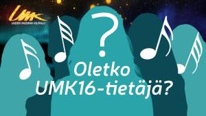 UMK16-tietäjä