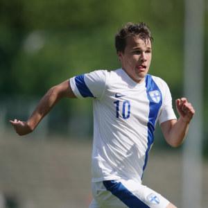 Simon Skrabb är en del av U21-landslaget just nu, men hans mål är A-landslaget.